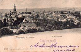 CPA Rare, Trebnitz I. Schies, Totalansicht - Poland
