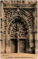 31rp 945 CPA - DETAILS DE L'EGLISE SAINT JACQUES - Abbeville