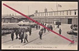 76 LE HAVRE -- Compagnie Générale Transatlantique _ CGT _ Sortie Des Ouvriers _ Port Du Havre. - Other