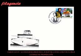 CUBA SPD-FDC. 2018-27 60 ANIVERSARIO DE LA BATALLA DE SANTA CLARA. ERNESTO CHE GUEVARA - FDC