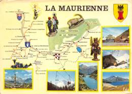 LA MAURIENNE Region De Savoie Col De La Croix De Fer Val Cenis Et La Dent Parrache 11(scan Recto-verso) MA2152 - France