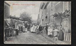MONTBRUN: ROUTE DE MOUX A LEZIGNAN - Frankrijk