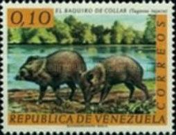 USED STAMPS Venezuela - Venezuelan Wild Life -1963 - Venezuela