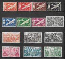 Timbre De Réunion  PA De 1944/46  N°28 A 41 Neufs ** Et * - Réunion (1852-1975)
