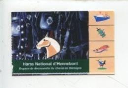 Ticket : Haras National D'Hennebont (2002) - Tickets D'entrée