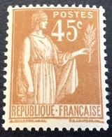 N° 282  NEUF ** SANS CHARNIÈRE ( LOT:129 ) - 1932-39 Paix