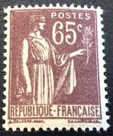 N° 284  NEUF ** SANS CHARNIÈRE ( LOT:131 ) - 1932-39 Peace