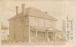 FLAGSTAFF CARTE PHOTO ARIZONA 1909 - Etats-Unis