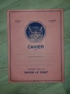 Protège-cahier Offert Par Le Savon Le Chat - Protège-cahiers