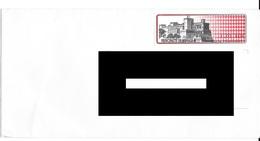 Lettre De Monaco Avec Vignette. (Voir Commentaires) - Marcophilie - EMA (Empreintes Machines)