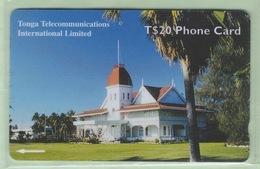 """Tonga - TTIL - 2000? Fourth Issue - Royal History - $20 Royal Palace  - TON-12 - """"36CTDC"""" - VFU - Tonga"""