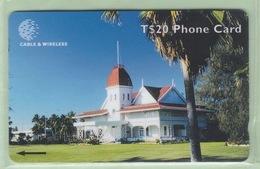 """Tonga - 1999 Third Issue - Royal History - $20 Royal Palace  - TON-9 - """"323CTDE"""" - VFU - Tonga"""