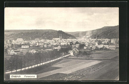 AK Diekirch, Panoramablick Auf Die Ortschaft - Diekirch
