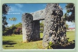 "Tonga - 1999 Third Issue - Royal History - $5 Ha' Amonga-amaui  - TON-7 - ""323CTDG"" - VFU - Tonga"