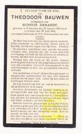 DP Theodoor Bauwen ° Wijtschate Heuvelland 1857 † 1934 X Sidonie DeRaedt - Images Religieuses