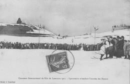 CPA LAmoura 1 Concours De Ski - France
