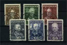 OESTERREICH 1935 Nr 617-622 Gestempelt (112009) - 1918-1945 1. Republik