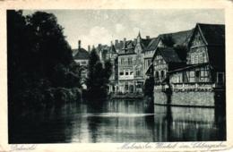 "Detmold, ""Malerischer Winkel Im Schlossgarten"", Um 1930 - Detmold"