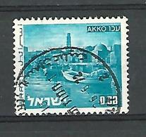 1970 / 1979   AKKO  0.08  OBLITÉRÉ TB - Israel