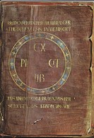 43-----LE PUY---trésor De La Cathédrale--la Bible De Théodulfe ( Le Dernier Feuillet )-voir 2 Scans - Le Puy En Velay