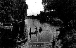¤¤  -  PARIS   -  BOIS De BOULOGNE   -  Perspective Sur La Seine, Vue Sur Le Pont De Clichy  -  Pêcheurs    -  ¤¤ - Arrondissement: 16