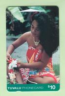 Tuvalu - 1995 First Issue - $10 Island Woman - TUV-3 - EFU - Tuvalu