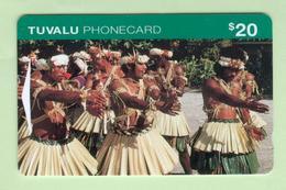 Tuvalu - 1995 First Issue - $20 Dance Party - TUV-4 - EFU - Tuvalu