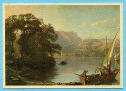 Pro Juventutekarte Nr. 218 - Italienischer See - Lettres & Documents