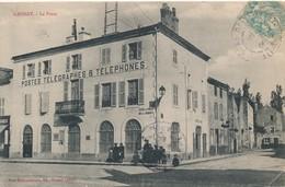 CPA - France - (03) Allier - Gannat - La Poste - Frankrijk