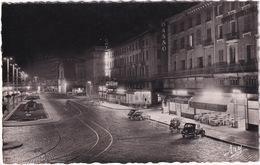 Marseille, La Nuit: SIMCA 8-1200 & SIMCA 8 SPORT - Bar 'Le Suffren' & 'New-York', Le Quai Des Belges - (1953) - Voitures De Tourisme