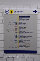 Métro (75)-Schéma De Ligne 01- (Edition à Tirage Limité) - Métro