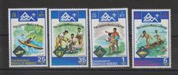Nouvelles-Hébrides Légende Française 1975 14ème Jamboree 410-413 ** 4val. MNH - Nuevos