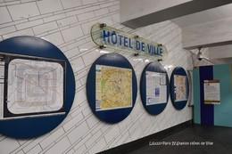 """Métro (75)-Station """"Hôtel De Ville""""- (Edition à Tirage Limité) - Métro"""