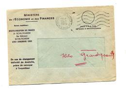 Lettre Dispense Flamme Muette Schiltigheim Annexe G A - Marcophilie (Lettres)