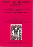 33. ANSICHTSKARTEN-AUKTION BUCHHOLZ & POLSTER 2014 - Livres