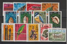 Nouvelles-Hébrides Légende Française 1977 Série Courante Surchargée 450-462 ** 13val. MNH - Nuovi