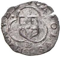 Carlo Emanuele I (1580-1630) - Parpagliola 1584 FD Bourg - Scudo Sabaudo /R Croce Ornata MIR 668a NC D.146 - Monete Regionali