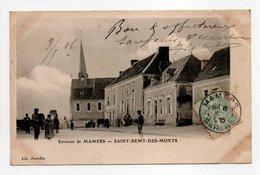 - CPA Environs De MAMERS (72) - SAINT-REMY-DES-MONTS 1906 - Edition Lib. Jourdin - - Frankreich