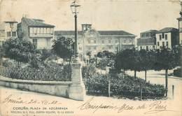 LA CORUNA - Plaza De Azcarraga. - La Coruña