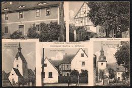 C3125 - Beichlingen Kölleda - Diözese Kirchspiel Bachra Und Schafu Pfarrhaus Kirche - Verlag Germania - Soemmerda