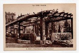 - CPA NICE (06) - Place Mozart - Jardin Provençal - Edition Munier N° 21 - - Piazze