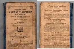 """Petit Livre- """" De Lecture Et D'Instruction ,pour L'Enfant""""- - 6-12 Ans"""