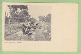 CONAKRY : La Lessive. Guinée Française. TBE. 2 Scans. Edition Bouquillon - Guinea Equatoriale