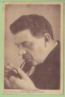 Edouard HERRIOT, Maire De Lyon. Carte Peu Courante. 2 Scans. Edition Groupe D'Amis Sincères Du Président Herriot - Personajes