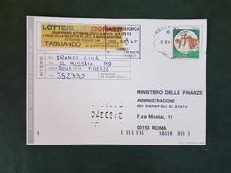 (20950) STORIA POSTALE ITALIA 1996 - 6. 1946-.. Repubblica