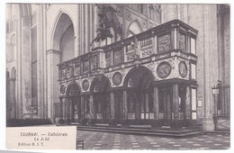 Tournai Cpa Cathédralen, Le Jubé - Doornik