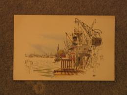 GOTHENBURG HARBOUR - ART CARD 3 - Sweden