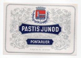 - ALIMENTATION - PASTIS JUNOD - PONTARLIER - - Other