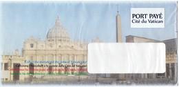 BUSTA PER INVIO COMUNICAZIONI - ANNO 2013 - PIAZZA DEL VATICANO - Interi Postali