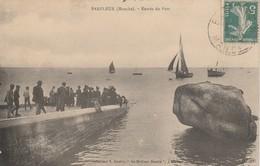 50 - BARFLEUR - Entrée Du Port - Barfleur